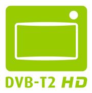 DVB-T2 HD Receiver und Antenne
